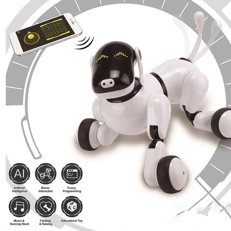 Enfants interactif électrique danse Robot jouet musique éclairage chant voix Robot chien chiot jouet enfant jouet vacances cadeau
