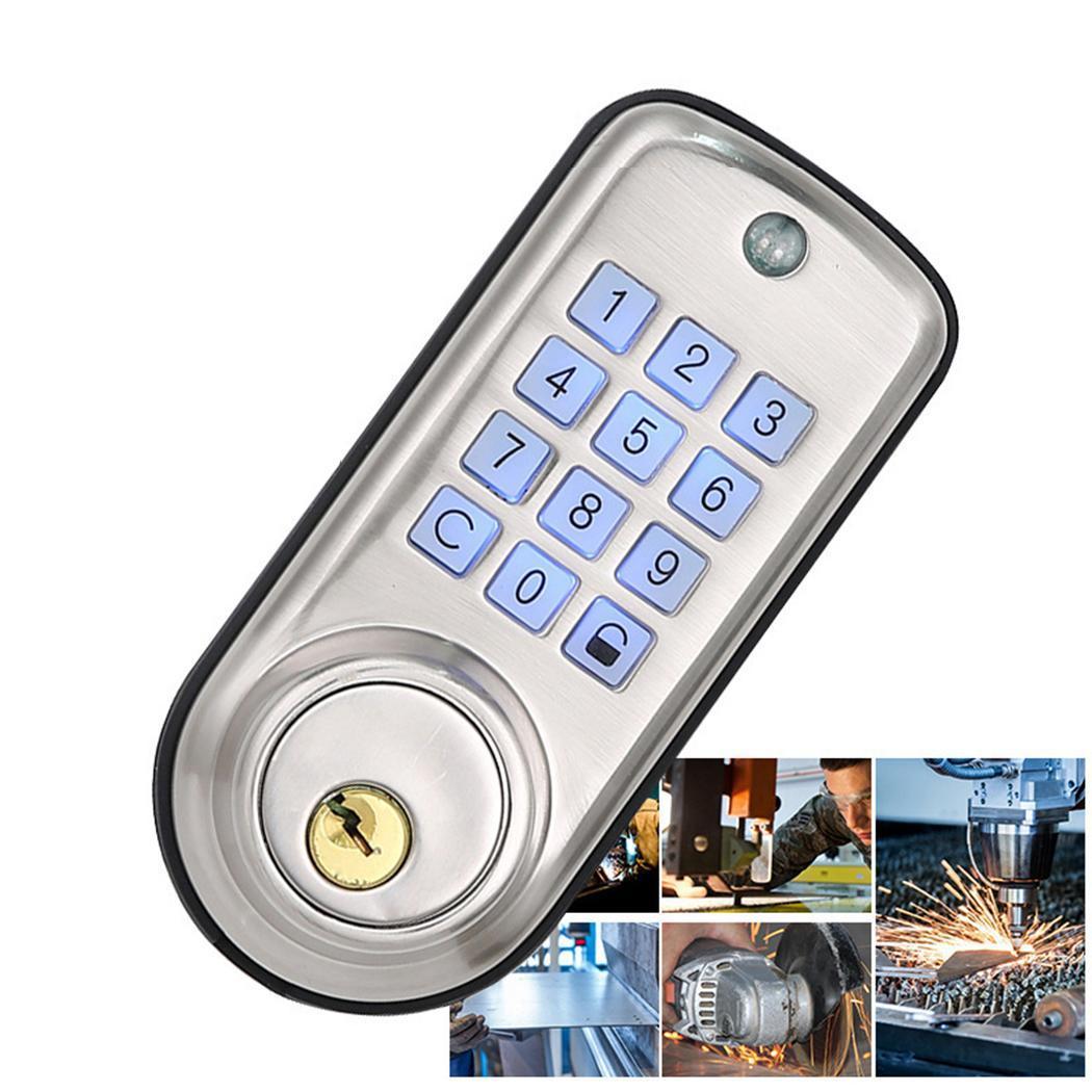 Home Smart Electronic Digital Door Keyless Password 45~85% Password, Spare Mechanical Deadbolt Lock 200mAHome Smart Electronic Digital Door Keyless Password 45~85% Password, Spare Mechanical Deadbolt Lock 200mA