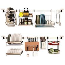 Keuken Cucina Dish Drainer Mutfak And Storage Cosas De Pantry Stainless Steel Rack Cozinha Cocina Organizador Kitchen Organizer