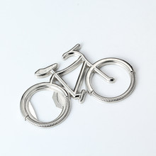 Alloy Bike Beer Soda Bottle Opener Creative Design Cute Bicycle Keychain Key Rings Bottle Opener Gift For Bicycle Lover shark shaped bottle opener keychain zinc alloy silver color key ring beer bottle opener unique creative gift cute key chains