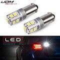 IJDM автомобильный BAY9S светодиодный Canbus Xenon Белый 10-SMD 3030 чипов H21W светодиодный светильник для 16-up BMW F30 3 серии запасной обратный светильник 12В 24...