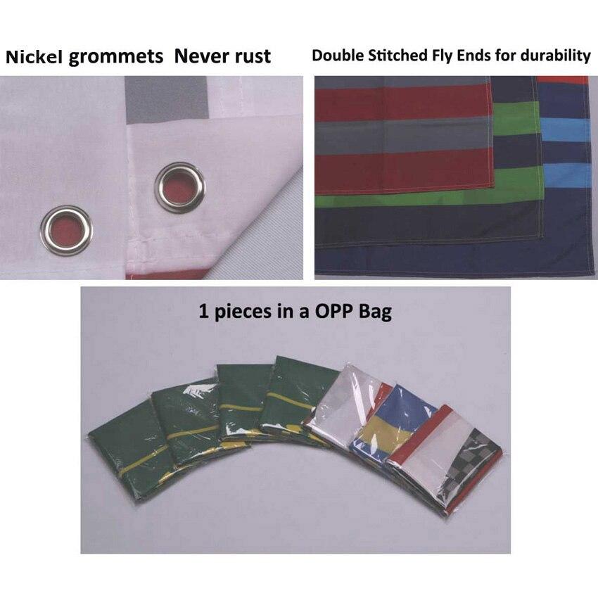 Ev ve Bahçe'ten Bayraklar, Pankartlar ve Aksesuarlar'de Özel 150 cm 90 cm Bayrağı Tek Taraflı Polyester Afiş Özelleştirilmiş bayrakları ve pankartlar 3ft * 5ft Tüm Renk Tüm Tasarımlar'da  Grup 3