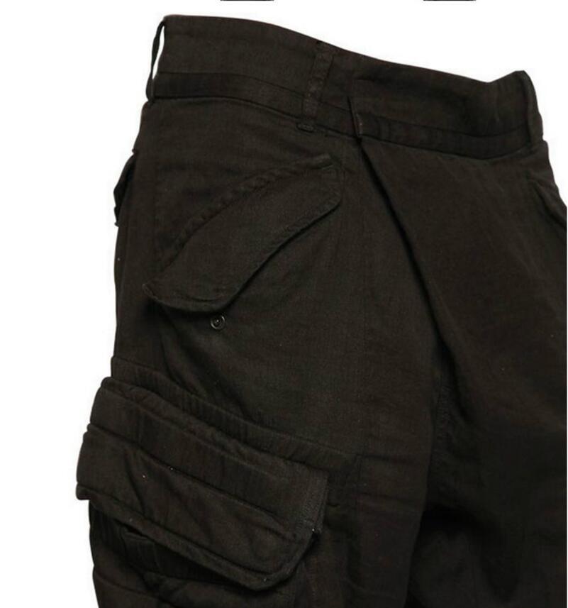 Pantalones Ropa Estilista Black De Bolsillo Gd Skinny Tamaño Trajes 27 Nuevo Hombres 44 Harem Moda 2019 Casual Plus Decoración wYXzPq