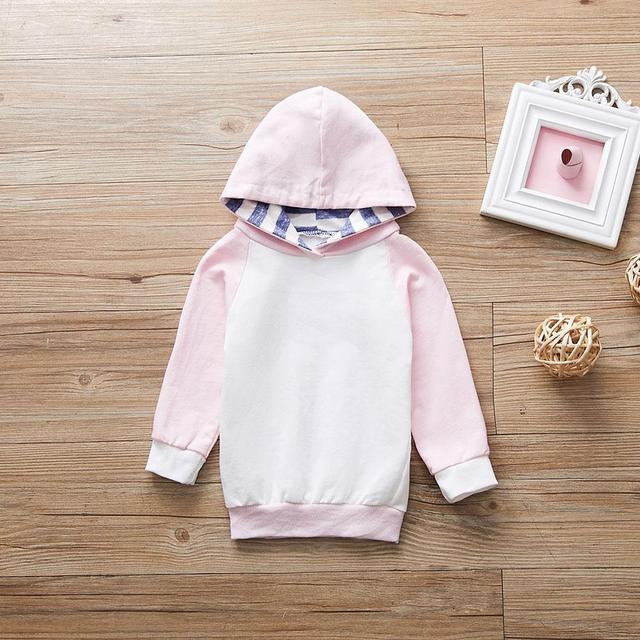 Bé Gái Quần Áo Trẻ Em quần áo Áo Khoác Áo Len Mùa Xuân Cô Gái áo Trẻ Em cô gái quần áo Mới Mùa Xuân 2019 Thời Trang hoodies cho các cô gái