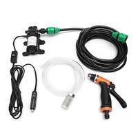 12V Electric Car Washing Machine High Pressure Car Washing Pump Cleaning Wash Device Car Washing Tools