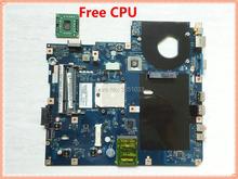 Placa base LA 5481P para portátil Acer aspire 5516 5517, MBPGY02001, NCWG0, LA 5481P, DDR2, CPU gratis