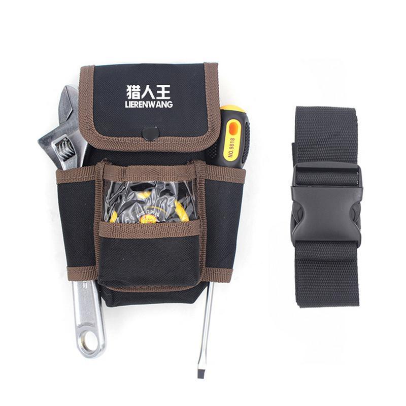 Multifunction Waist Pocket  Tool Belt Pouch Pocket Holster Storage Holder Electrician Tools Bag Tool Holder Organizer #SO