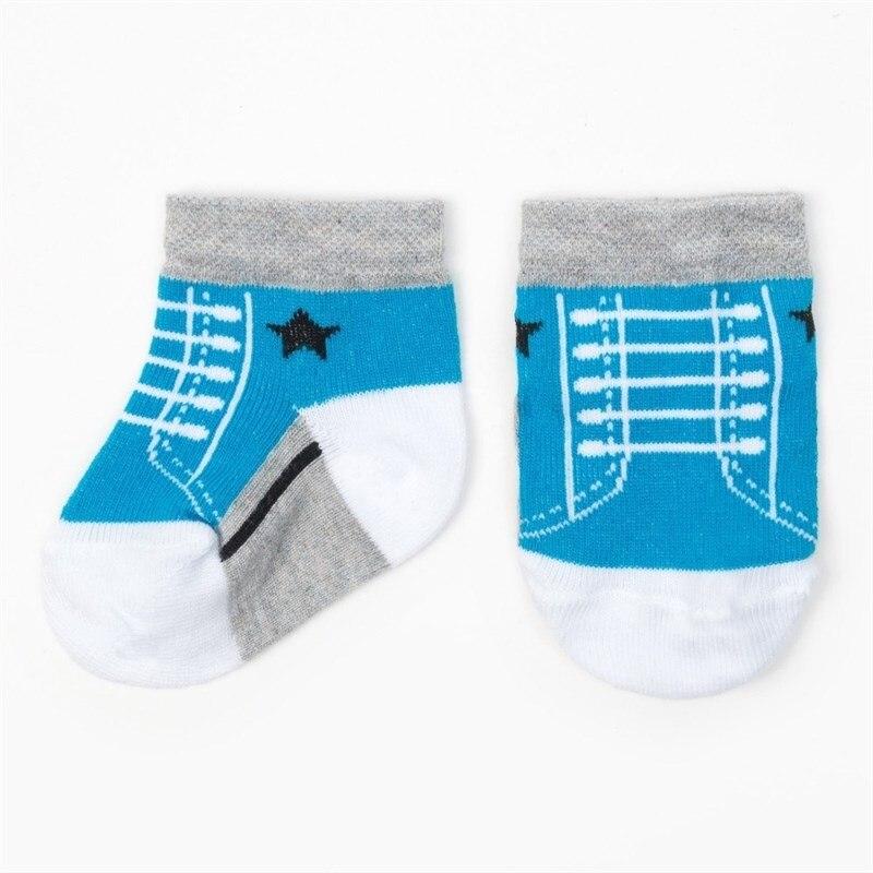 Socks Crumb I Sneakers, blue socks crumb i mexico mouse 100% cotton