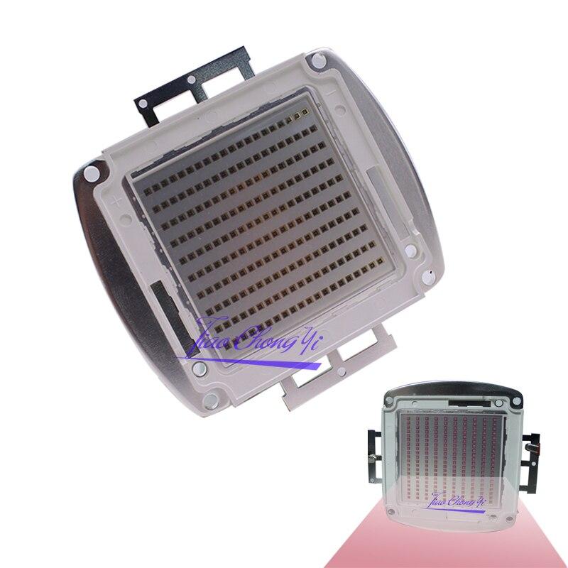 Diode lumineuse infrarouge de lampe à LED de puissance élevée de 200 W IR 740nm 808nm 850nm 940nm 28-34 V 3000mA, Source lumineuse intégrée pour le bricolage