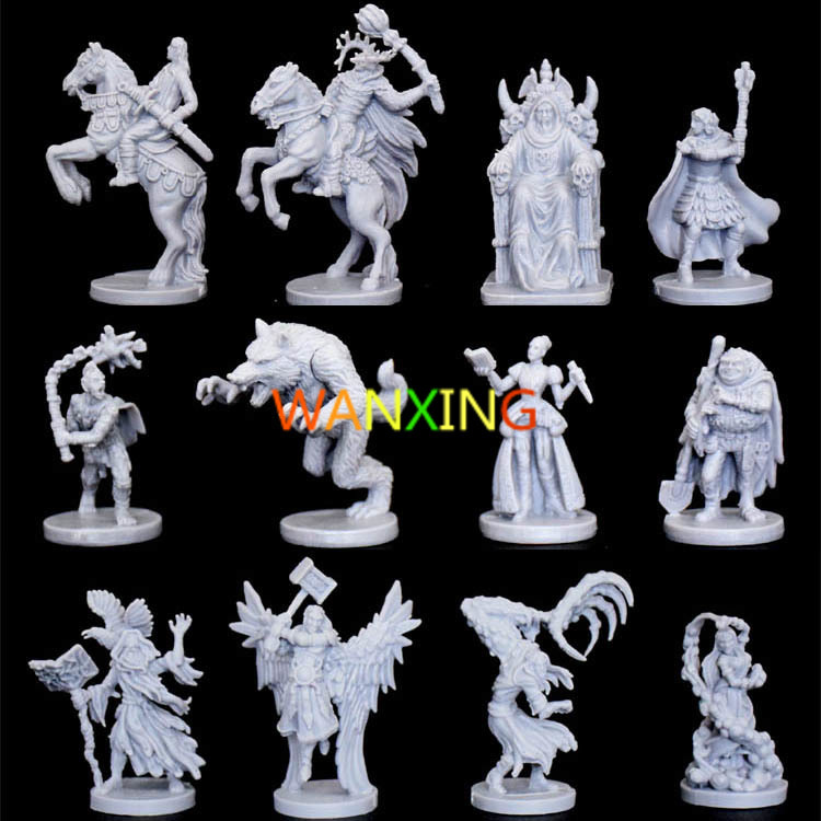 1/45 Scale Model Board Game Talisman Series End Catastrophe Predictor Blood Moon <font><b>Resin</b></font> Model DIY Production Free Shipping image