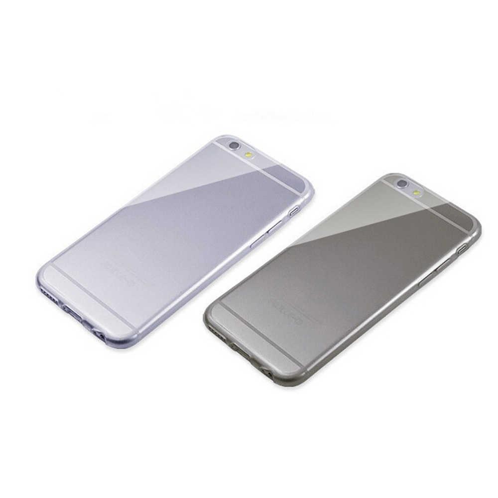 Ultra thin Clear โปร่งใส TPU ซิลิโคนสำหรับ iPhone XS MAX XR 6 7 6S Plus ปกป้องโทรศัพท์กรณีสำหรับ iPhone 8 7 Plus