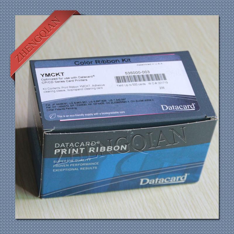 535000-003 Color Ribbon For Datacard CP CD Series Printer YMCKT 500-Prints LOT