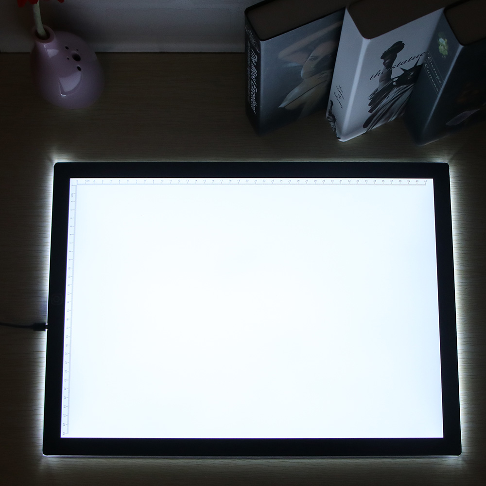 A3 Third Gear Dimming Drawing Board Tracer Dimmable Calibration LED Sketch Tablet Tracing Artist Table Light