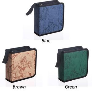 40/80 держатель коробки для переноски дисков, сумка для хранения в автомобиле, чехол, альбом, DVD Органайзер компакт-дисков, защитный чехол для дома, карта, полоса
