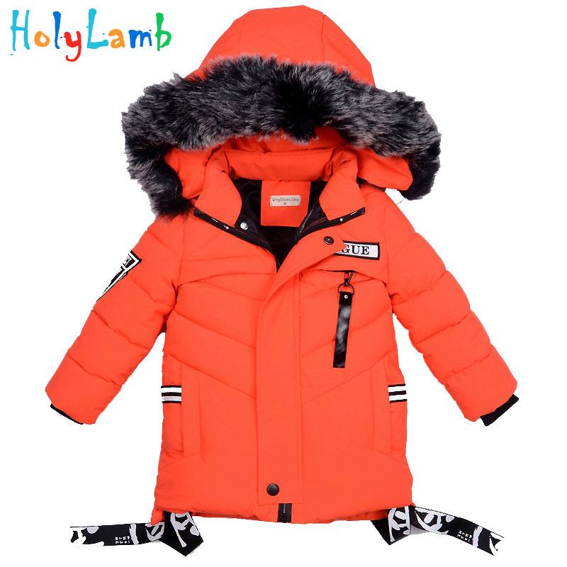 Boys Winter Jackets Coats Down Baby Boy Clothes Snowsuit Winter Jacket Clothes Winter Overalls Children's Down Jacket Baby Cloth Down & Parkas     -