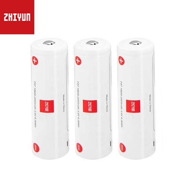 3PCS/Set 18650 Battery 2600mAh Lipo Battery For Zhiyun Crane 3 Lab Stabilizer Gimbal Spare Parts Accessories