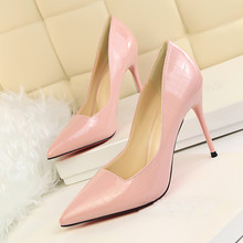 New 2017 Spring Autumn Women Pumps Sexy Gold Silver High Heels Shoes Fashion Pointed Toe Wedding Party DS-A0013