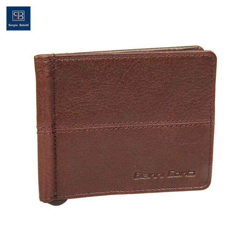 Money clip Gianni Conti 1137466E dark brown gianni conti 909075 brown