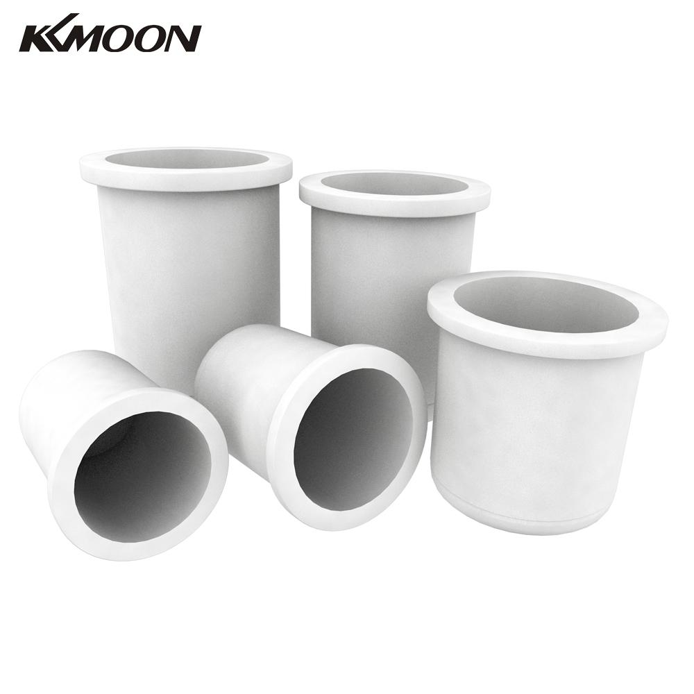 KKmoon High-purity Quartz Crucible 1//2//3//4//5KG Melting for High-temperature Metal Gold Silver Scrap Cup Casting Mold Smelting Tools