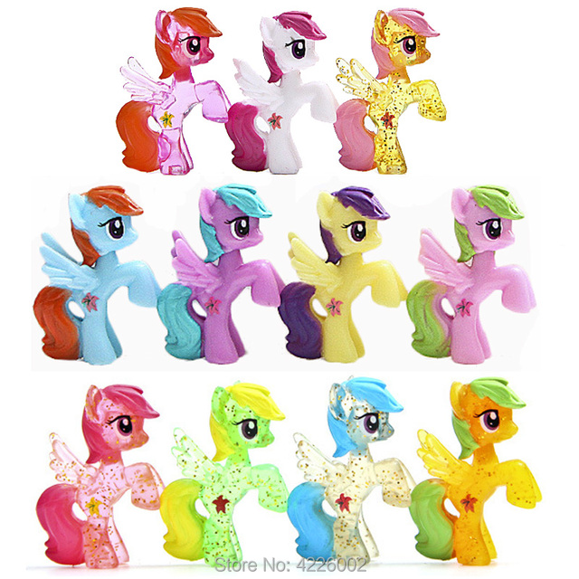 My Little Pony Cake Toppers