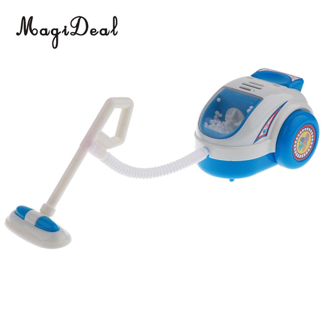 MagiDeal Plastic Simulation Miniature Home Appliance For Kids Children Pretend Role Play Furniture Toy - Blue Vacuum Cleaner