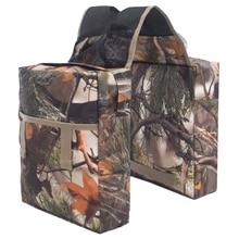 Motorcycle ATV Tank Saddle Bag Saddlebag Luggage Storage Organizer Pouch for Outdoor Camping Travel