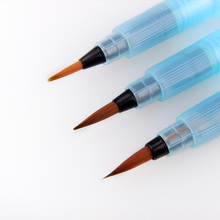 1/3PCS Portable Paint Brush Water Tank Pencil Soft Watercolor Brush Pen for Beginner Calligraphy Painting Drawing Art Supplies