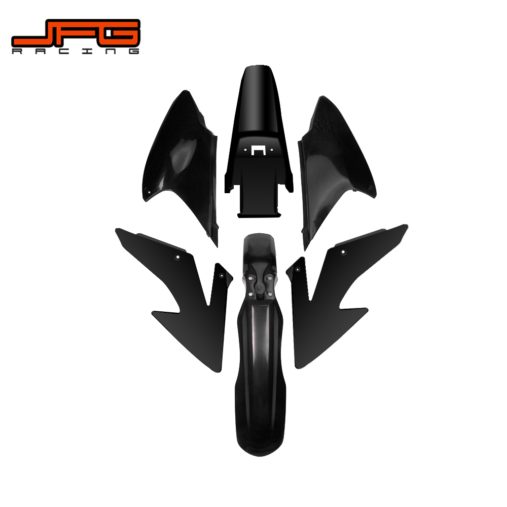 Motorcycle Complete Full Body Plastic Kit Fender Farings For HONDA CRF230F CRF150F CRF230 F CRF150 F 2008 2009 2012 2013 2014-in Full Fairing Kits from Automobiles & Motorcycles    1
