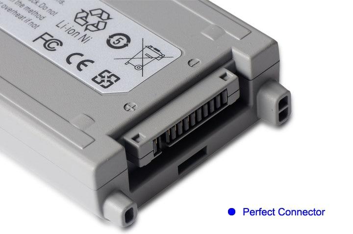 KingSener celular japonés nuevo CF-VZSU48 batería para Panasonic CF-VZSU48 CF-VZSU48U CF-VZSU28 CF-VZSU50 CF-19 CF19 Toughbook - 6