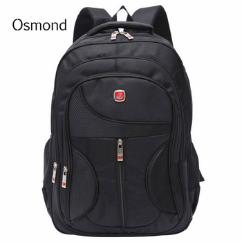 2018 Men's Business Nylon Backpacks 15 Inches Computer Back Packs Travel Students School Bags Notebook Laptop Rucksack Wholesale