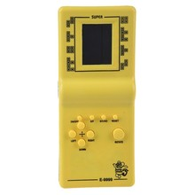 Tetris Game Toys Hand Held LCD Electronic Game Toys Brick Cl