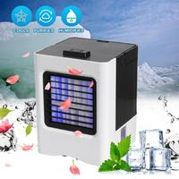 Portable Mini Air Cooling Purifier Fan USB Desktop Air Cooler Humidifier Easy Cool Purifies Air Cooling Fan for Home Office Hot