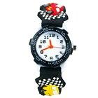 Analog watch for kids, boy education kids waterproof watch, digital watch sport kid cool boy gift black