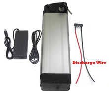 Electric Bike battery 36V 12AH 500W Pack with 42V 2A charger and 15A BMS Bottom Discharge