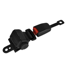 Universal Retractable Semi-closed two-point seat belt Lap Auto Car Safety Seatbelt Set Kit For Bus Truck Cars