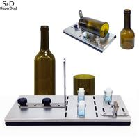 Wine Round Glass and DIY Cutter Bottle Cutter Bottle Cutting Tool Oval Square Durable glass cutter