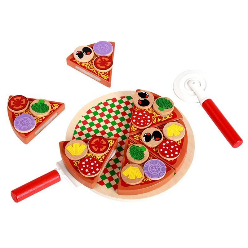 6pcs Child Kitchen Utensils Cooking Pretend Play Set Tableware Food Fruit Toys J