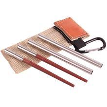 1 par de palillos chinos para viajes al aire libre Camping Picnic plegable palillos chinos plegables vajilla palillos retráctiles