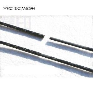 Image 4 - פרו Bomesh 2 ריקים 1.98 m UL L ML 2 סעיף 24 T סיבי פחמן חכת דיג ריק פיתוי דיג DIY מוט בניין רכיב תיקון