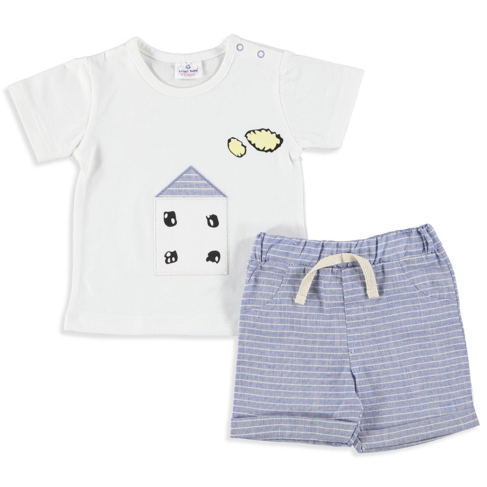 Luggi Home Baby Tshirt Short Set