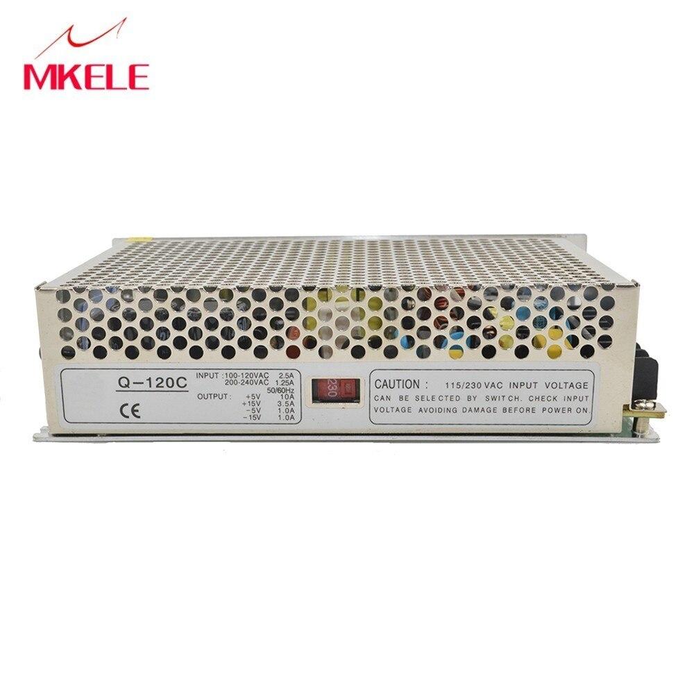 Q-120B Ming Wei four sets of switching power supply 12 V-5V-12V 5V