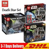 Лепин Звездные войны Набор Звезда смерти 05026 05035 05063 модель здания Конструкторы классический игрушки Совместимые с подарками LegoINGlys 10143 10188