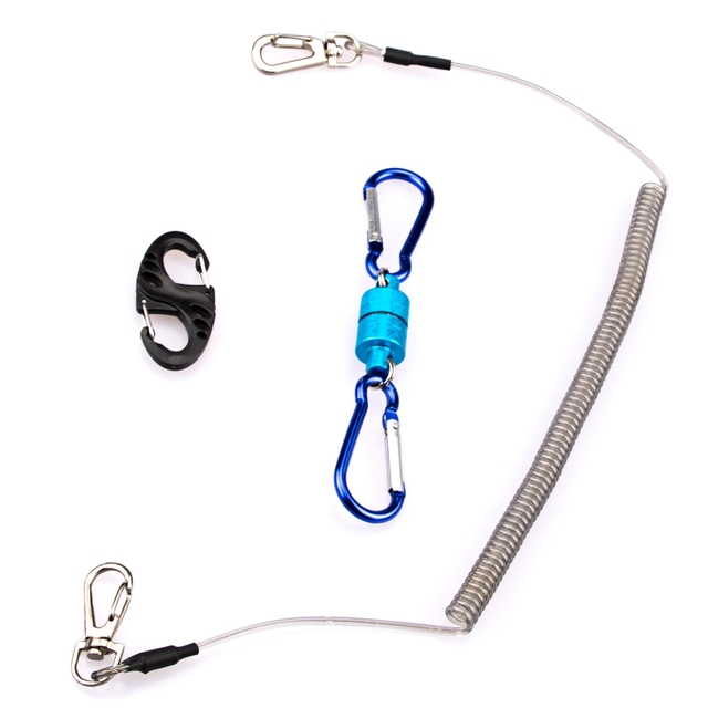 Best Price Fishing Tackle Accessories Set Fishing Lanyard Ropes + Magnetic Buckle 8-Shape Fast Buckle For Fishing