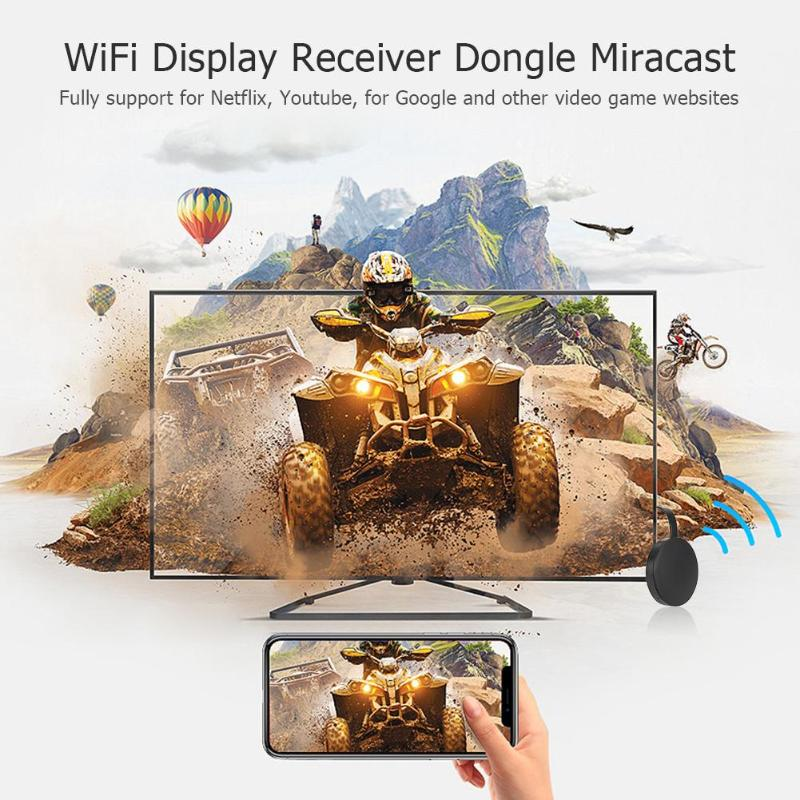 Image 2 - Dropship Wireless WiFi MiraScreen TV Dongle HDMI Miracast DNLA Airplay Display Receiver Adapter For Android IOS Wireless Adapter-in TV Stick from Consumer Electronics