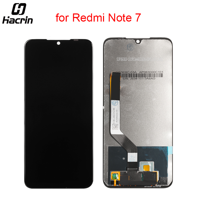 Hacrin LCD For Redmi Note 7 LCD Display Touch Screen Digitizer Assembly for Xiaomi Redmi Note 7 LCD Screen Replacement 6.3inchHacrin LCD For Redmi Note 7 LCD Display Touch Screen Digitizer Assembly for Xiaomi Redmi Note 7 LCD Screen Replacement 6.3inch