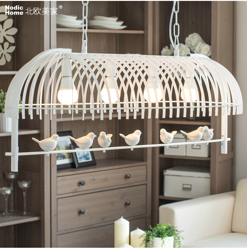 Nordic Creative Pendant Lamp Led Lamps Living Room Bird Pendant Lights Led Lustre Light/lamps E27 Pendant For Ac90--260vNordic Creative Pendant Lamp Led Lamps Living Room Bird Pendant Lights Led Lustre Light/lamps E27 Pendant For Ac90--260v