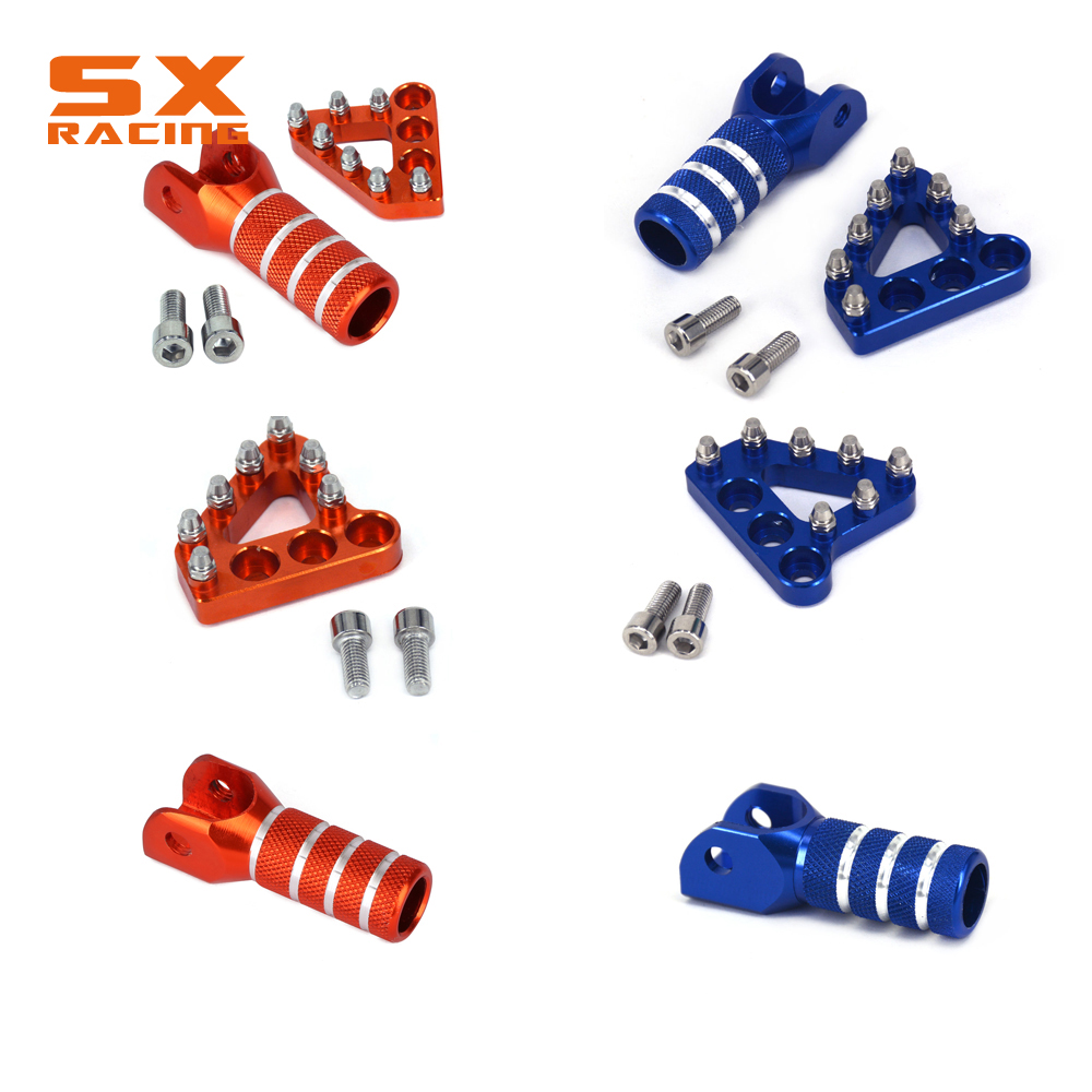 CNC Brake Pedal Lever Step Plate Tip for KTM 125 150 250 300 450 530 EXC//MXC//SX