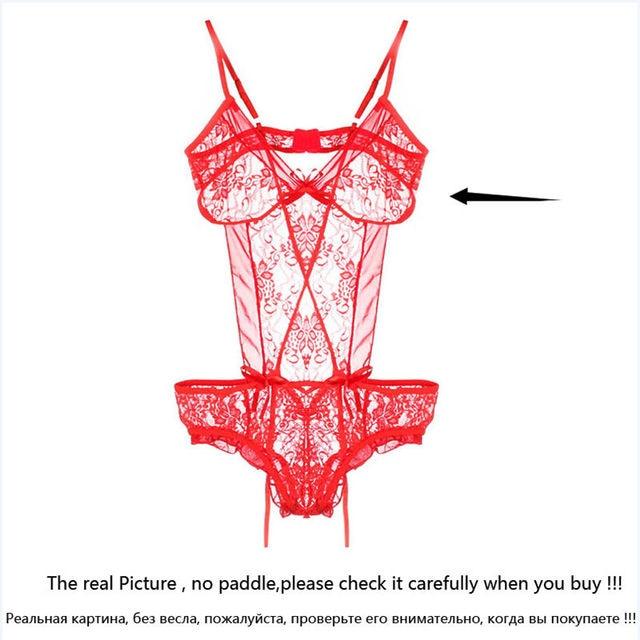 Hot Sale Sexy lingerie Sexy Nightwear Underwear Porn Sexy Lingerie Women Hot Erotic Baby Dolls Dress Women Teddy Lenceria 5