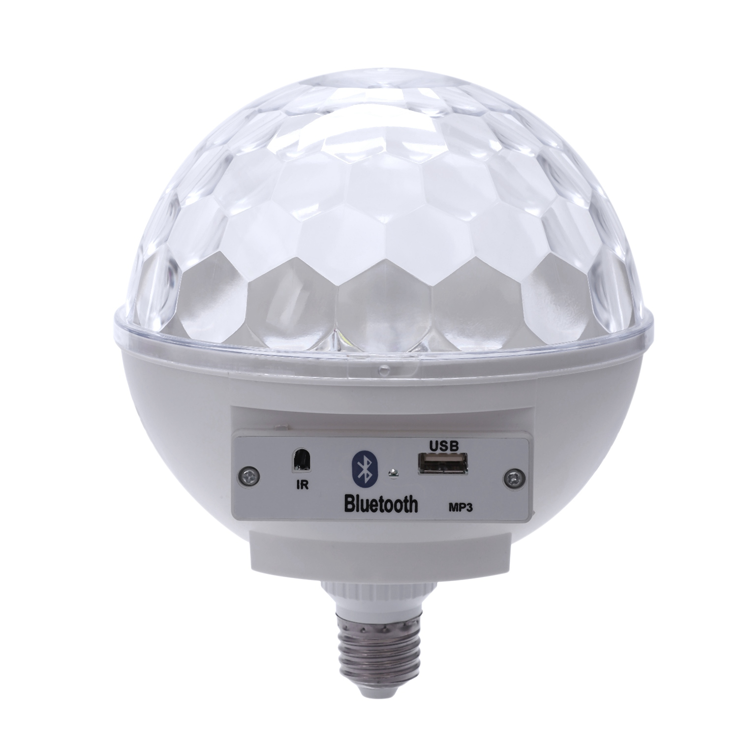 White  6W Bluetooth Music Bulb Led Bulb Bluetooth Music Lamp Bluetooth E27 Magic Ball