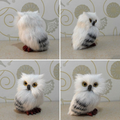 Lively Cute Owl Animal Christmas Tree Brush Hanging Ornaments Xmas Party Decor Prop Increase Christmas Atmosphere Pakistan